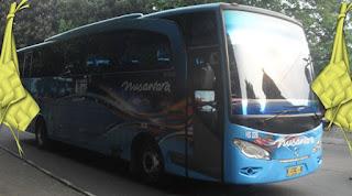 harga tiket lebaran 2019 bus nusantara jakarta semarang kudus