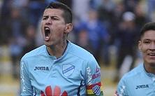 Bolívar festejando el gol