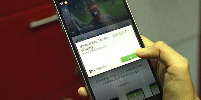 Cara Membeli Aplikasi Di PlayStore dengan Pulsa