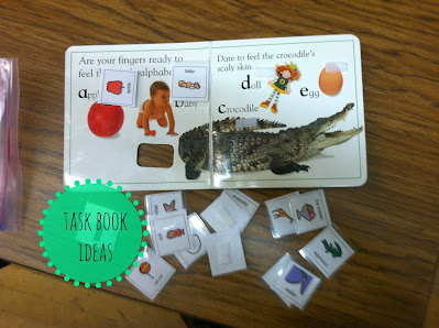 Task Book Ideas for Special Education