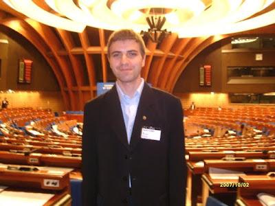 Daniel Verejanu e reprezentantul oficial al OMCT la Consiliul Europei dans Council of Europe
