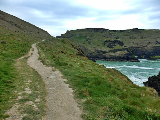 South west coastal path at Tintagel, Cornwall