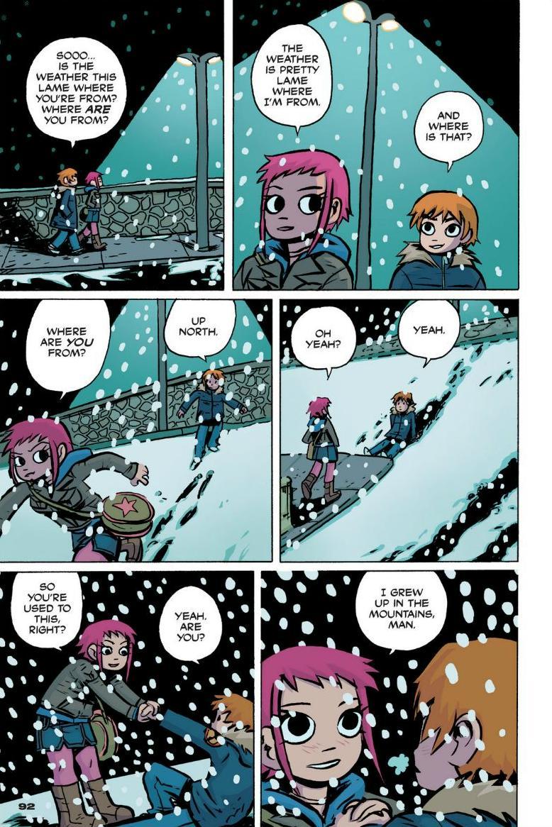 Read online Scott Pilgrim comic -  Issue #1 - 84