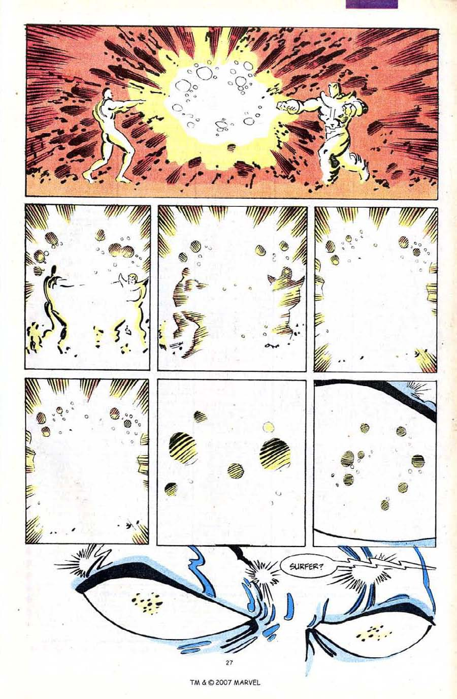 Read online Silver Surfer (1987) comic -  Issue #56 - 29