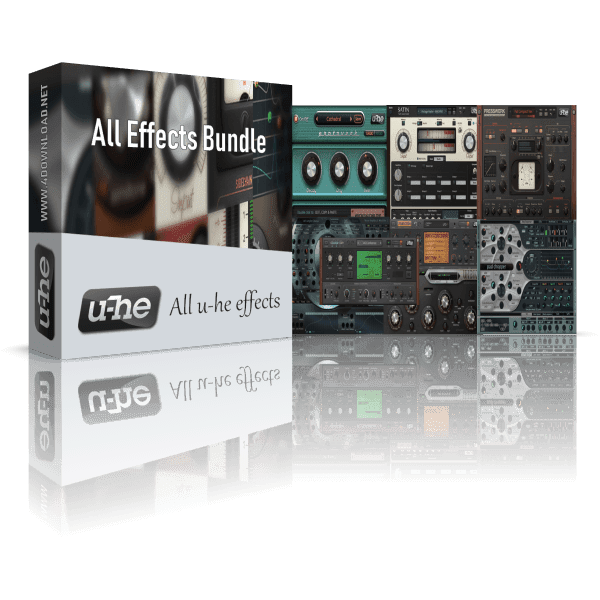u-he All Effects Bundle v2019.3 Full version