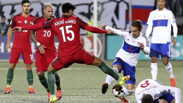 Portugal vs Islas Feroe en vivo Eliminatorias UEFA Mundial