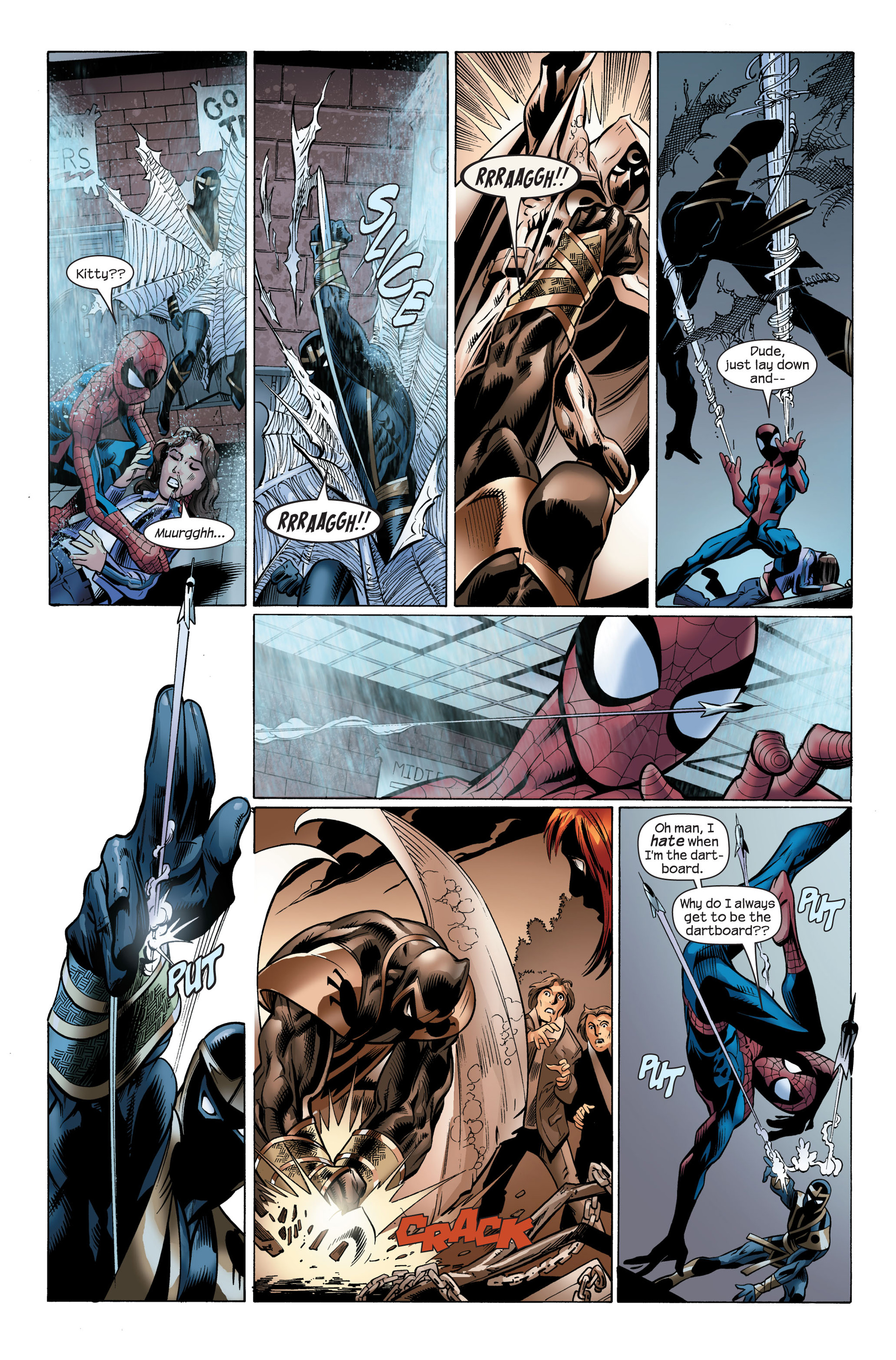 Read online Ultimate Spider-Man (2000) comic -  Issue #108 - 20