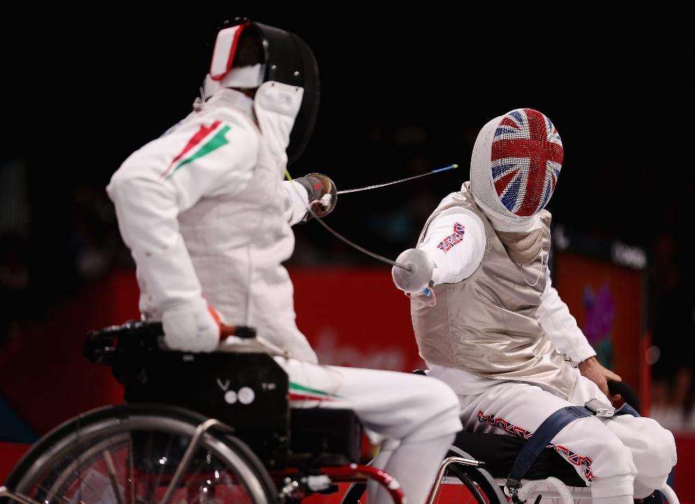 Deportados ag r o 2016 conociendo los deportes paral mpicos esgrima en silla de ruedas - Deportes en silla de ruedas ...