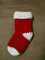 L'accroche laine - Mini bas de Noël