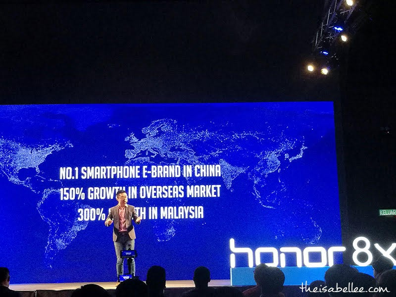 honor 8X launch in Malaysia