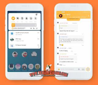 Tema Xiaomi Orange Simple Mtz