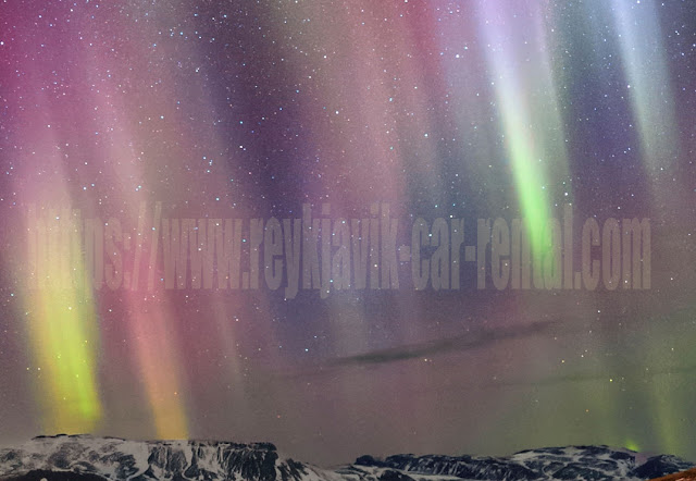 where to see northern lights in Iceland