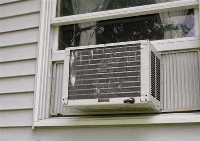 mortes bizarras, morto por ar condicionado
