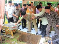Wakil Wali Kota Medan Letakkan Batu Pertama Pembangunan Masjid Ababil Medan Zoo