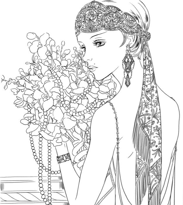 Juice Coloring Coloring Pages