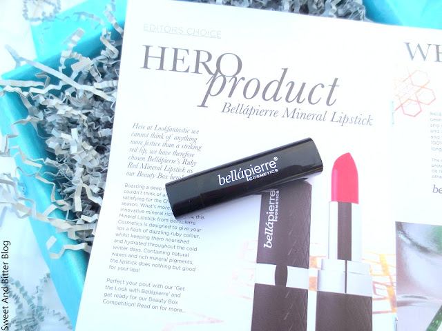 Bellapierre Mineral Ruby Lipstick