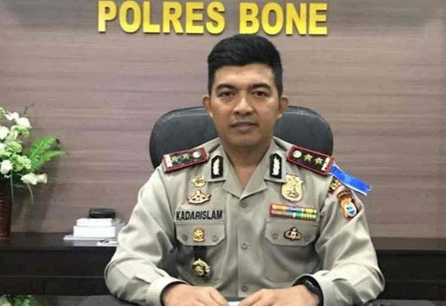 Jelang Pergantian Tahun 2018, Ini Himbauan Kapolres Bone
