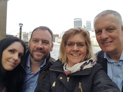 A day out in London with my parents!