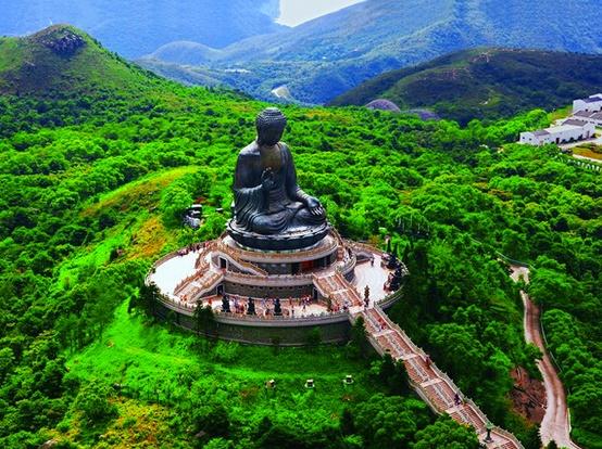 Resultado de imagem para monasterio po lin hong kong