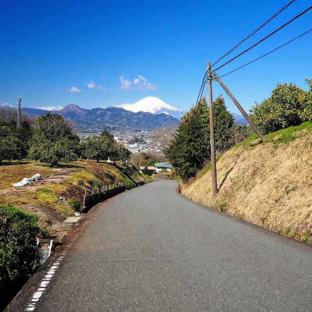 大井町 富士山