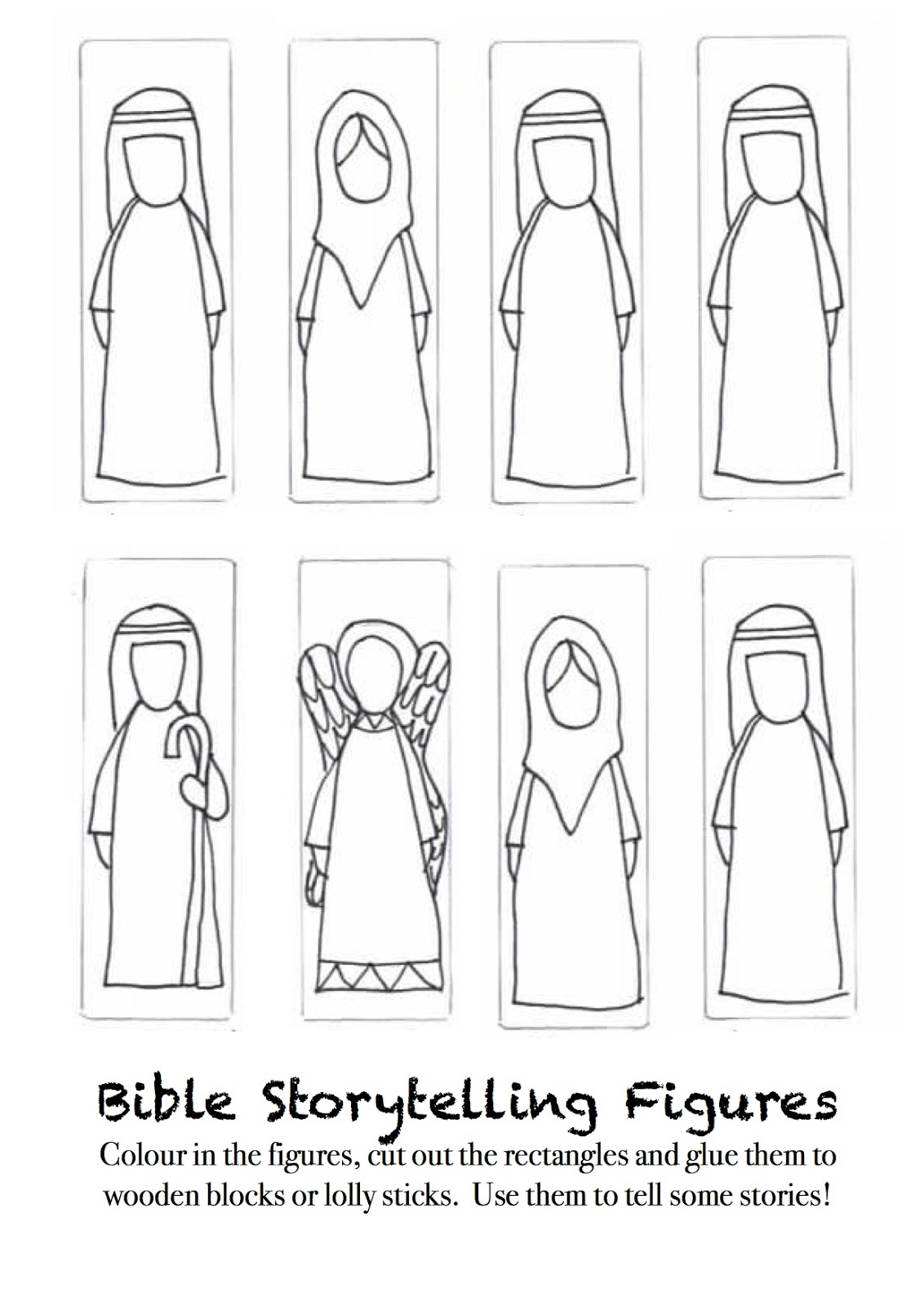 Flame creative children 39 s ministry creative storytelling for Cut out character template