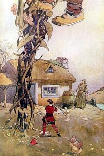 قصص اطفال جاك وشجرة الفاصوليا السحرية