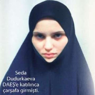 تركيا تعتقل زوجة ابو عمر الشيشاني القيادي البارز في تنظيم داعش بمدينة إسطنبول