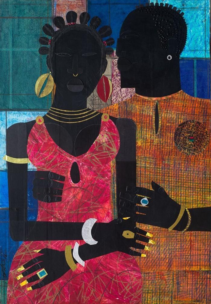 Картины-представления об афроамериканской жизни.