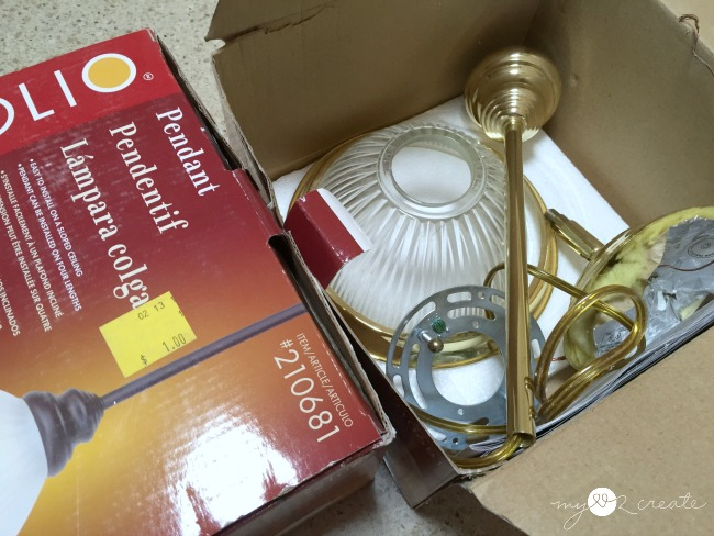 buy lighting cheap at the restore