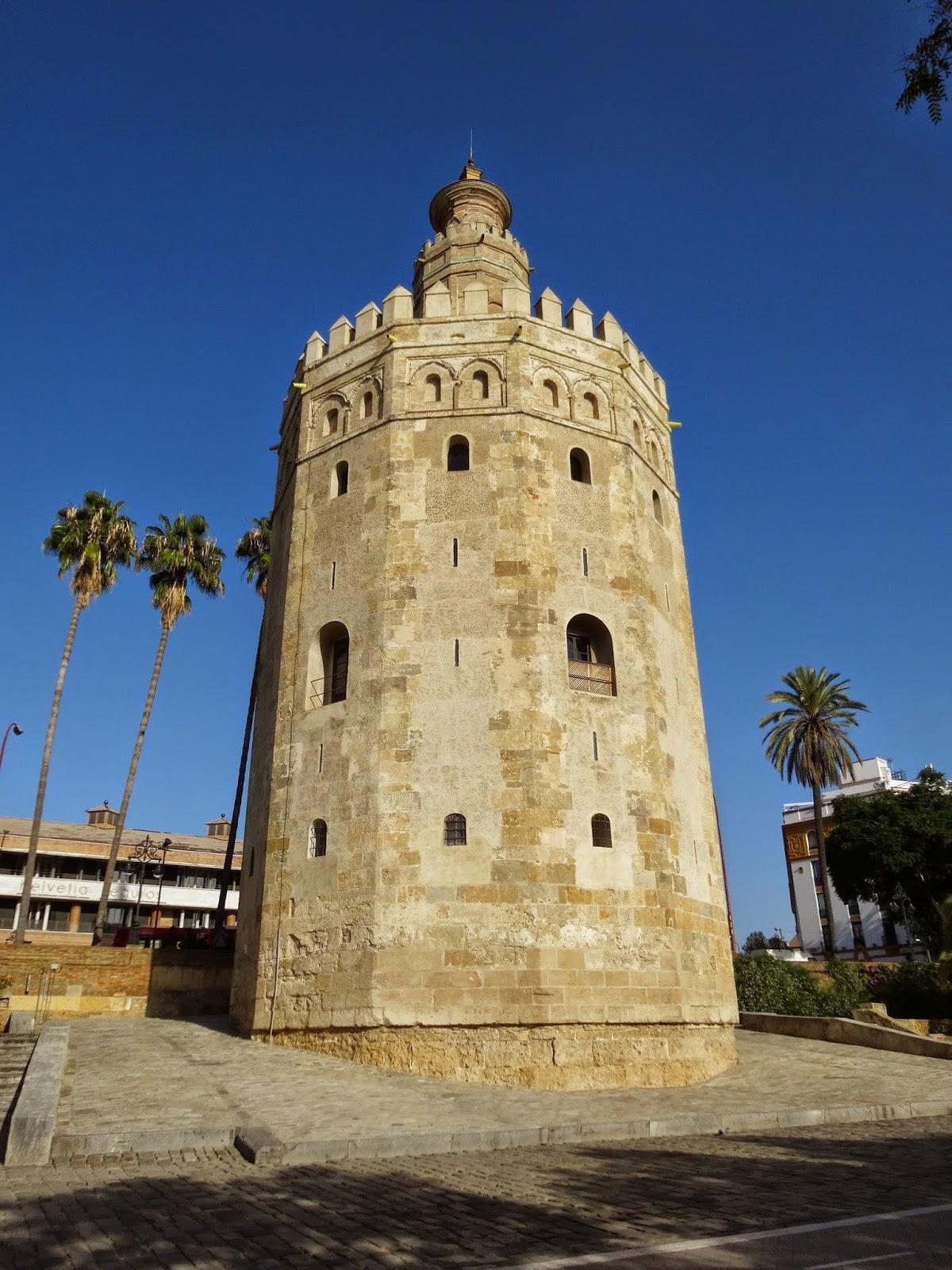 1 dia em Sevilha - Praça de Touros, Torre de Ouro