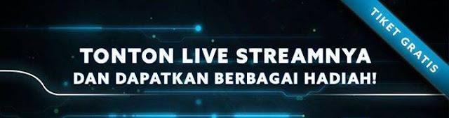 Hadiah Live Streaming Grand Final PBNC 2016 Sabtu dan Minggu