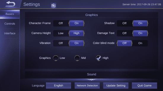 Change Graphics Mode