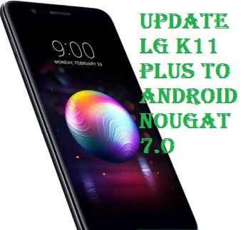 تفليش ،وتحديث ،جهاز، أل ،جي ،Firmware، Update، LG، K11، Plus، LMX410FC، to، Android، Nougat، 7.0
