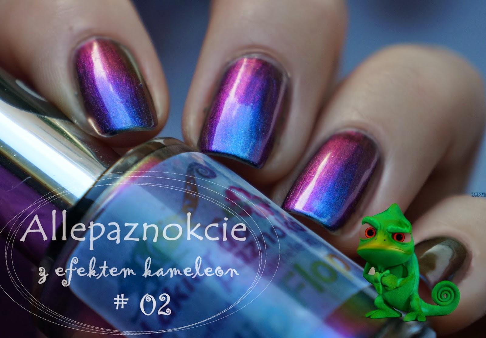 Allepaznokcie Flip Flop Kameleon #02, czyli milosc zaowocowala...