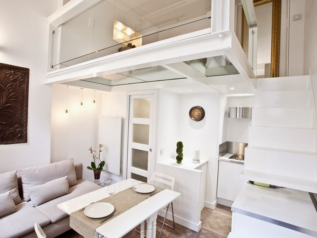 Apartment Of 25m2 In The Center Of Paris With Interesting Mezzanine