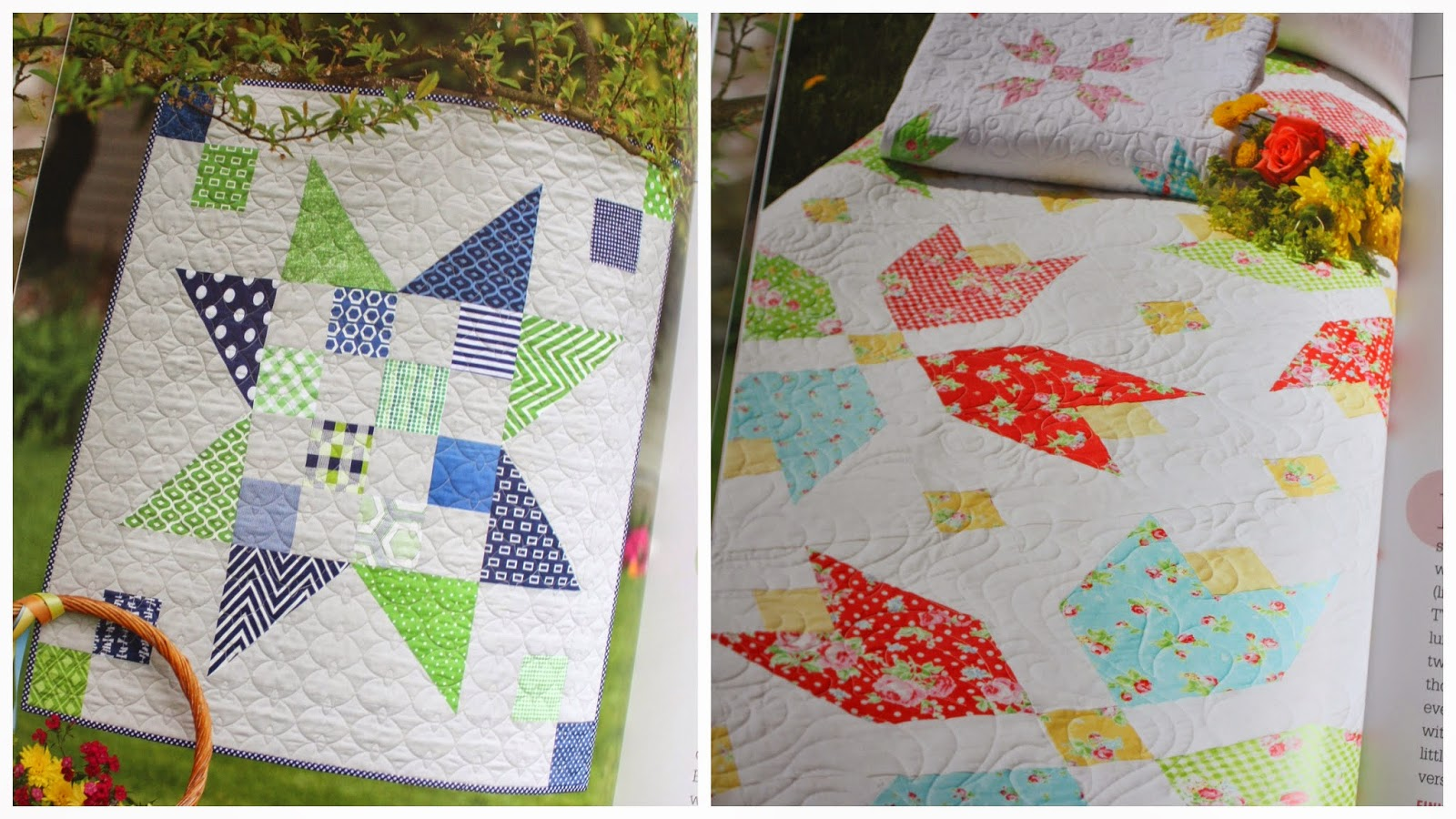 Vintage Vibe quilt book + Scrap Jars quilt - Diary of a Quilter - a quilt blog