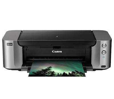 Wireless Color Professional Inkjet Printer Canon PIXMA PRO-100 Driver Downloads