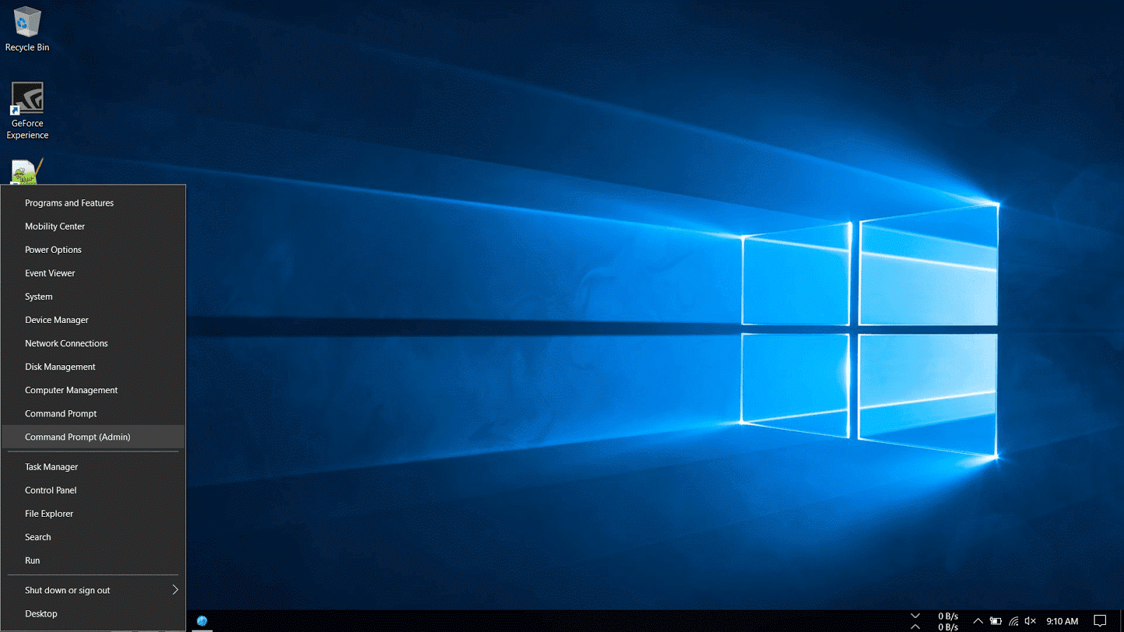 Install updates on Windows 10