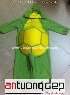 cho thuê thú hở mặt rùa