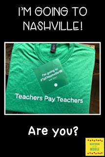 TpT, Conference, TeachersPayTeachers, Nashville, TpT18