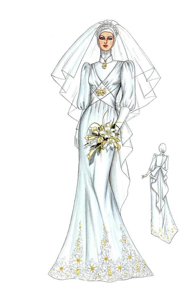 Belog Myra : Wedding Preps 1 : Nikah Outfit