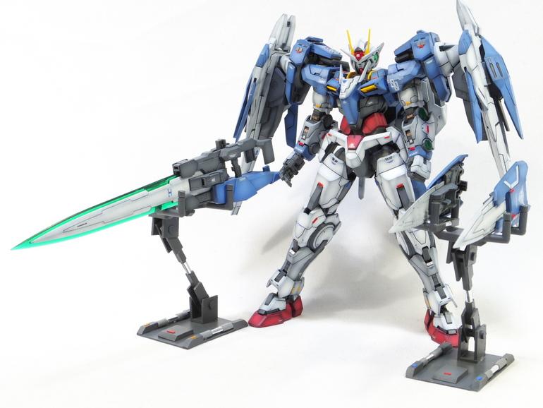 Custom Build Rg 1 144 00 Raiser Detailed Gundam Kits Collection News And Reviews