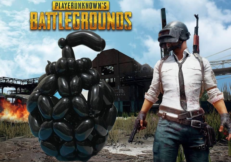 氣球手榴彈-PUBG