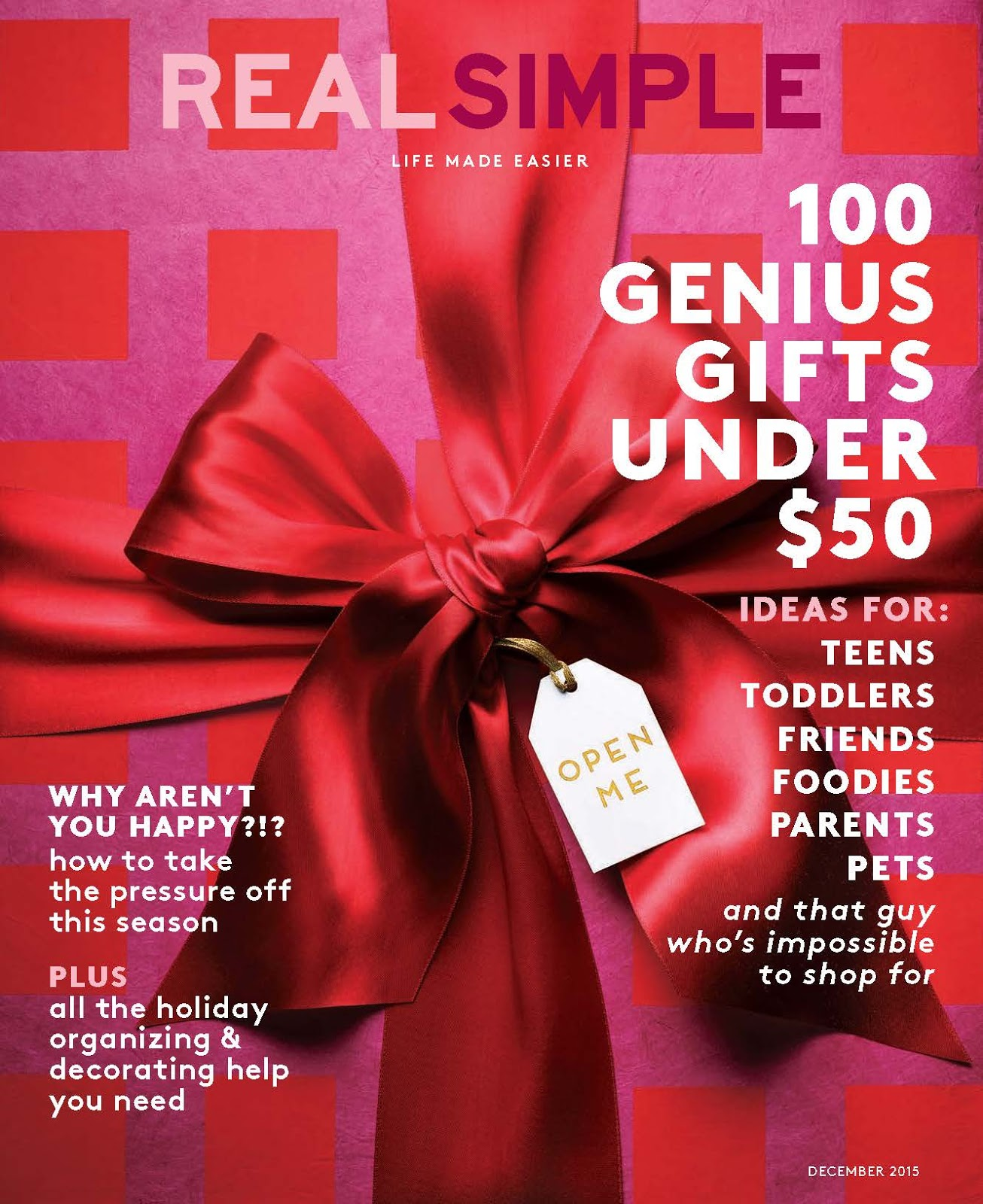 Real simple christmas gift ideas