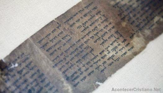 Manuscrito más antiguo de los Diez Mandamientos