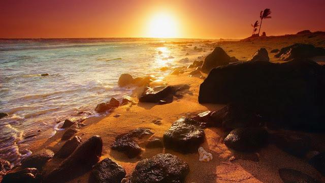 summer beach vacation full hd 1080p nature wallpaper