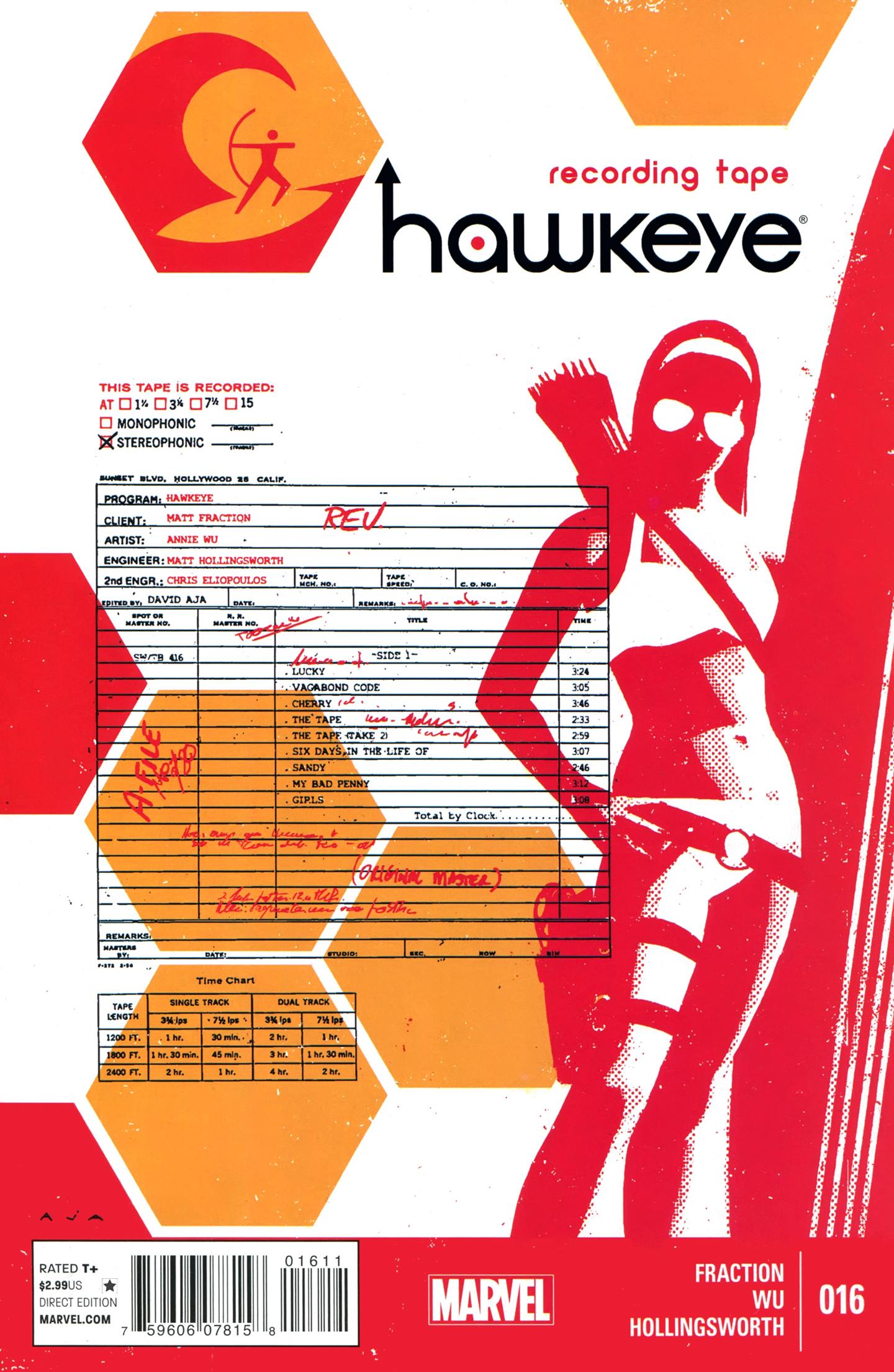 Hawkeye (2012) 16 Page 1