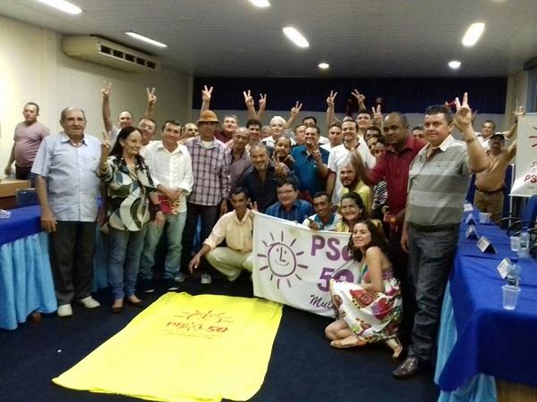 PSOL realiza Plenária Estadual em Cajazeiras com a presença de oito cidades