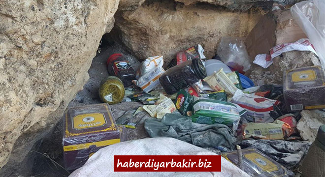 Diyarbakır'ın Lice, Hani ve Çermik ilçelerinde 4 PKK sığınağı imha edildi