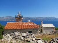Svjetionik Rt Sv. Nikola, Pučišća, otok Brač slike